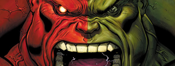 Hulk Red comic books from Marvel Comics