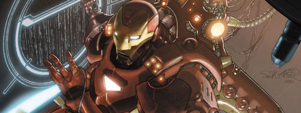 Invincible Iron Man comic books from Marvel Comics