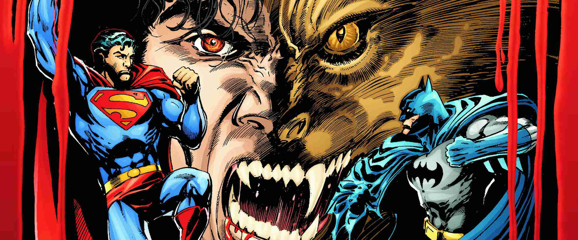Superman Batman vs. Vampires and Werewolves comic books from DC Comics
